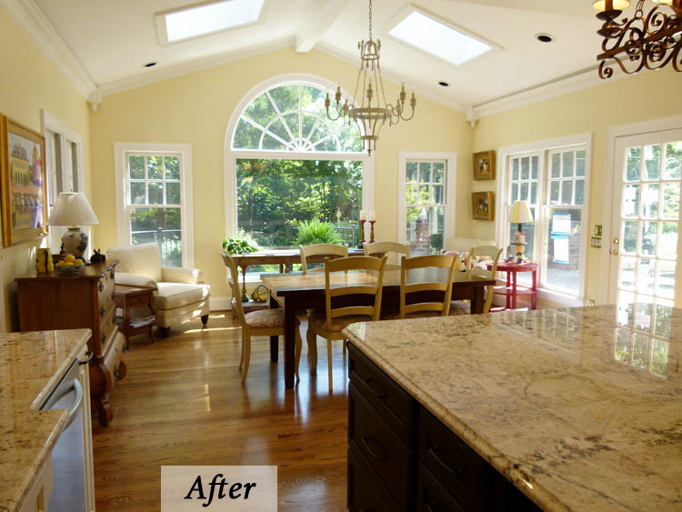 French Country Kitchen Meets Transitional June Delugas
