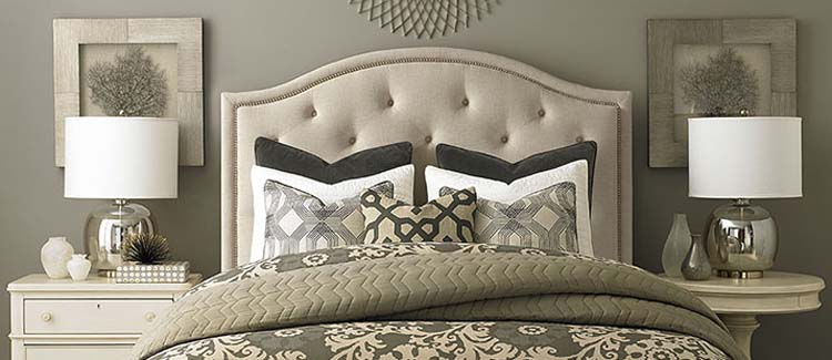 upholstered headboards  june delugas interiors, Headboard designs