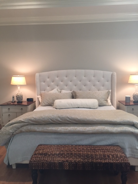 Master Bedroom Update: June DeLugas Interiors